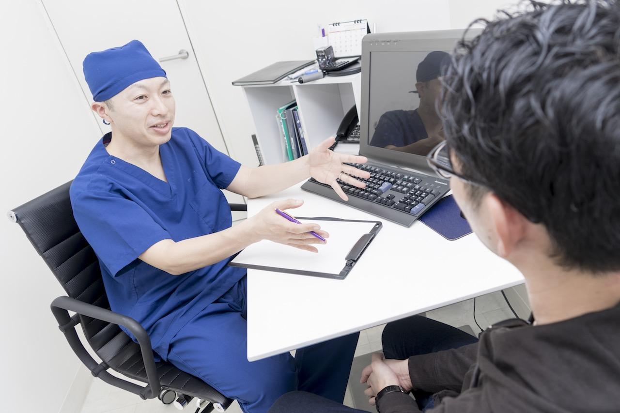 ゴリラクリニックの医師の診断